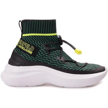 Schoenen Dames Hoge sneakers Karl Lagerfeld  Zwart