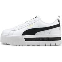 Schoenen Dames Lage sneakers Puma Mayze  lth wns Wit