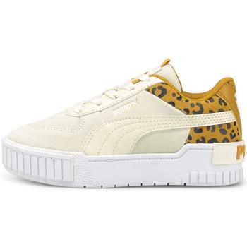 Schoenen Kinderen Lage sneakers Puma Cali sport roar ps Beige
