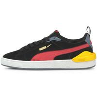 Schoenen Kinderen Lage sneakers Puma Suede bloc jr Zwart