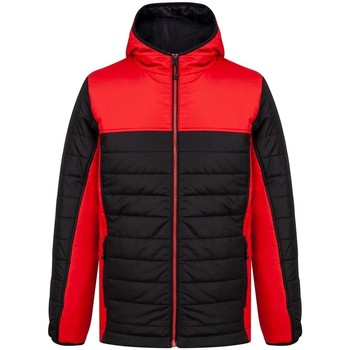 Textiel Heren Dons gevoerde jassen Finden & Hales LV660 Zwart/Rood