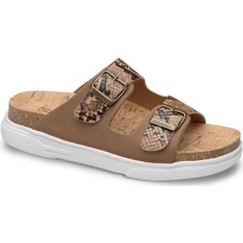 Schoenen Dames Leren slippers Feliz Caminar SANDALIA BELONA - Zwart