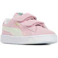 Schoenen Meisjes Lage sneakers Puma Suede Classic XXI V Inf Roze