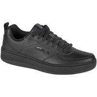 Schoenen Heren Lage sneakers Skechers Sport Court 92 Blanc