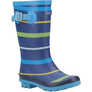 Schoenen Jongens Regenlaarzen Cotswold  Blauw/Groen/Geel