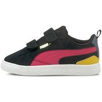 Schoenen Kinderen Lage sneakers Puma Suede bloc v ps Zwart