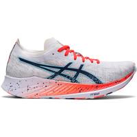 Schoenen Dames Running / trail Asics Chaussures femme  Magic Speed blanc/bleu électrique