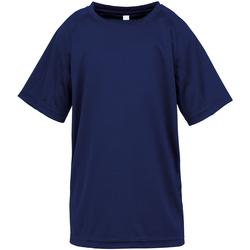 Textiel Jongens T-shirts korte mouwen Spiro S287J Marine