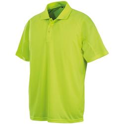 Textiel Heren Polo's korte mouwen Spiro S288X Flo Geel