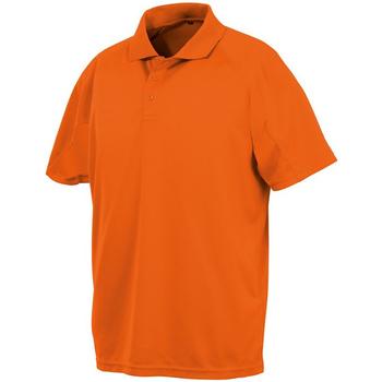 Textiel Heren Polo's korte mouwen Spiro S288X Floro Oranje