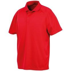 Textiel Heren Polo's korte mouwen Spiro S288X Rood