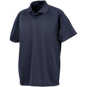 Textiel Heren Polo's korte mouwen Spiro S288X Marineblauw