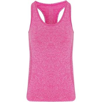 Textiel Dames Mouwloze tops Tridri TR209 Roze
