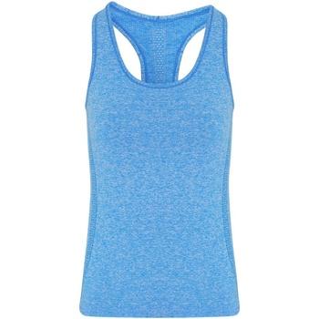 Textiel Dames Mouwloze tops Tridri TR209 Saffierblauw