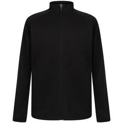 Textiel Jongens Trainings jassen Finden & Hales LV873 Zwart/Zwart