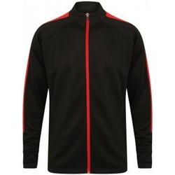 Textiel Jongens Trainings jassen Finden & Hales LV873 Zwart/Rood