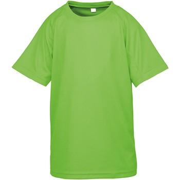 Textiel Kinderen T-shirts korte mouwen Spiro SR287B Lime Punch