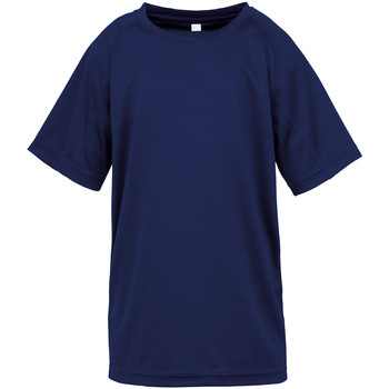Textiel Kinderen T-shirts korte mouwen Spiro SR287B Marine