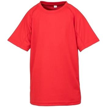 Textiel Kinderen T-shirts korte mouwen Spiro SR287B Rood