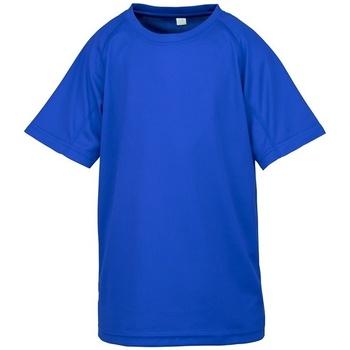 Textiel Kinderen T-shirts korte mouwen Spiro SR287B Koninklijk