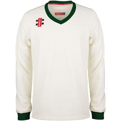 Textiel Kinderen Sweaters / Sweatshirts Gray-Nicolls GN29J Ivoor/Groen