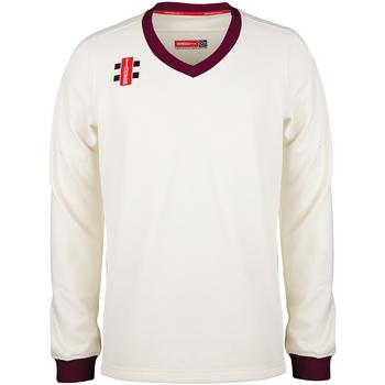 Textiel Kinderen Sweaters / Sweatshirts Gray-Nicolls GN29J Ivoor/Maroen