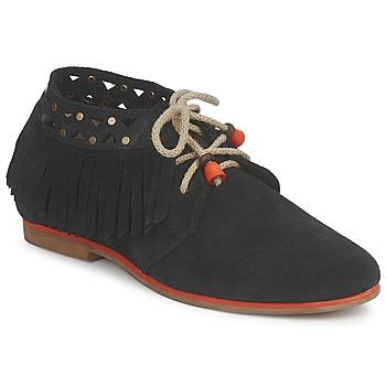 Schoenen Dames Laarzen Koah YASMINE Zwart