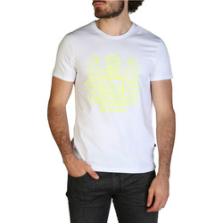 Textiel Heren T-shirts korte mouwen Aquascutum - qmt019m0 Wit