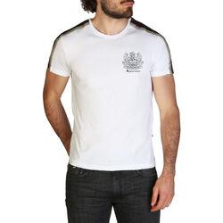 Textiel Heren T-shirts korte mouwen Aquascutum - qmt017m0 Wit