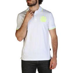 Textiel Heren Polo's korte mouwen Aquascutum - qmp025 Wit
