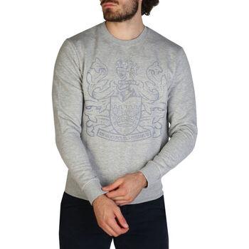 Textiel Heren Sweaters / Sweatshirts Aquascutum - fai001 Grijs