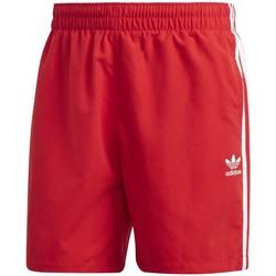 Textiel Heren Zwembroeken/ Zwemshorts adidas Originals  Rood