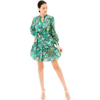Textiel Dames Korte jurken Fracomina FR21SD1031W405N4 Groen