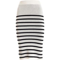 Textiel Dames Rokken Fracomina F321SG2001K45501 Wit