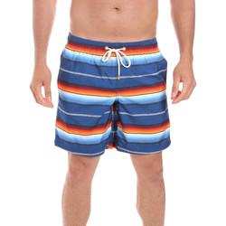 Textiel Heren Zwembroeken/ Zwemshorts Sundek M505BDP01EP Blauw