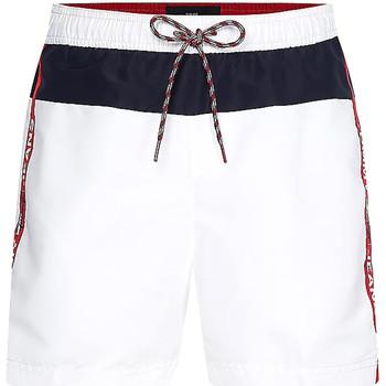 Textiel Heren Zwembroeken/ Zwemshorts Tommy Hilfiger UM0UM02070 Wit
