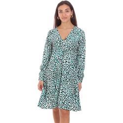 Textiel Dames Korte jurken Fracomina FR21SD2011W413N4 Groen