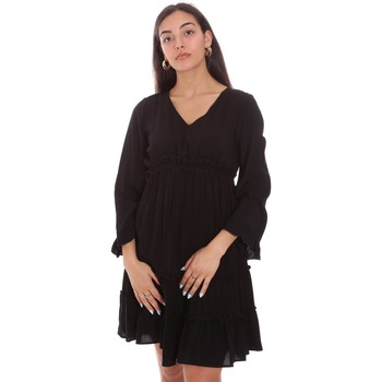 Textiel Dames Korte jurken Fracomina FR21SD1047W41801 Zwart
