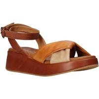 Schoenen Dames Sandalen / Open schoenen Sshady L2401 Bruin
