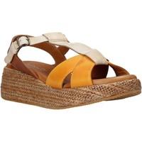 Schoenen Dames Sandalen / Open schoenen Sshady L2404 Bruin