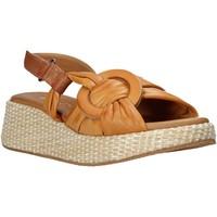Schoenen Dames Sandalen / Open schoenen Sshady L2406 Bruin