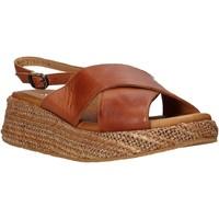 Schoenen Dames Sandalen / Open schoenen Sshady L2410 Bruin