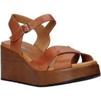 Schoenen Dames Sandalen / Open schoenen Sshady L2503 Bruin