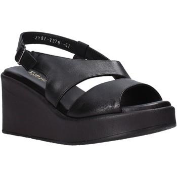 Schoenen Dames Sandalen / Open schoenen Sshady L2502 Zwart