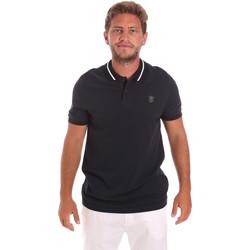Textiel Heren Polo's korte mouwen Roberto Cavalli FST693 Blauw
