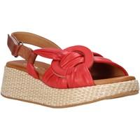 Schoenen Dames Sandalen / Open schoenen Sshady L2406 Rood