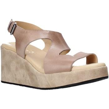 Schoenen Dames Sandalen / Open schoenen Sshady L2505 Bruin