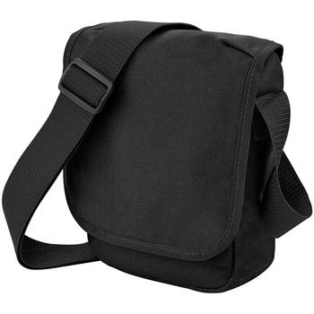 Tassen Jongens Schooltassen Bagbase BG18 Zwart