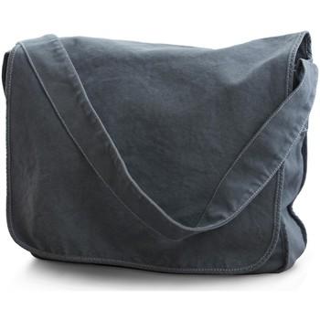 Tassen Jongens Schoudertassen met riem Bags By Jassz CA37309MB Denim Blauw