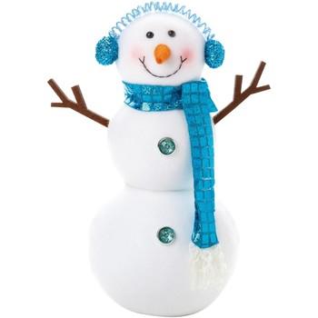 Wonen Kerst decoraties Christmas Shop Taille Unique Wit/blauw